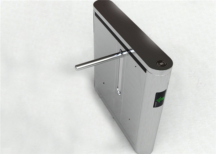 304 Stainless Steel Turnstile Barrier Gate Access Control Turnstiles For Hotel / Airport
