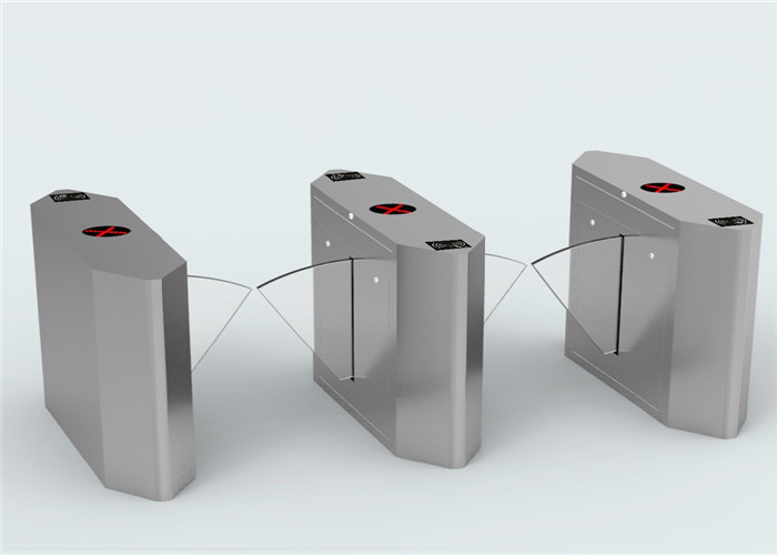 Subway entry and exit safety pedestrian turnstiles multiple lane with facial scanner