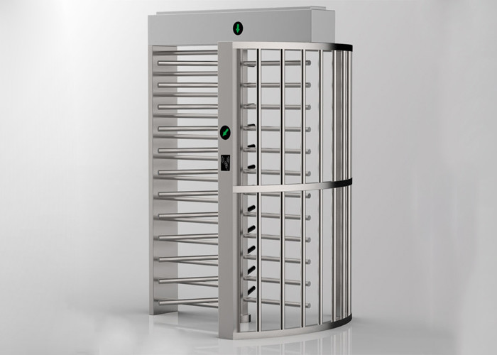 SS304 0.2 Seconds 600mm Arm Full Height Turnstile For Stadiums