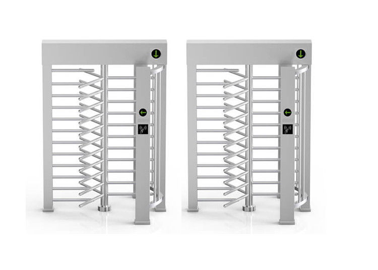 24VDC 40W 30person/Min Full Body Turnstile 610mm Width