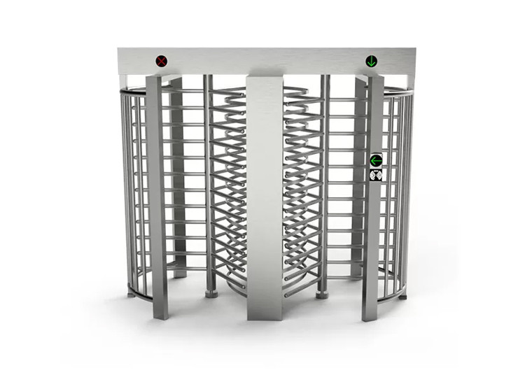 Pedestrian Overhear AC220V SS304 Double Way Barrier Gate 0.2S